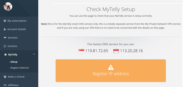 MyTelly Samsung Smart TV Setup | My Private Network | Global VPN