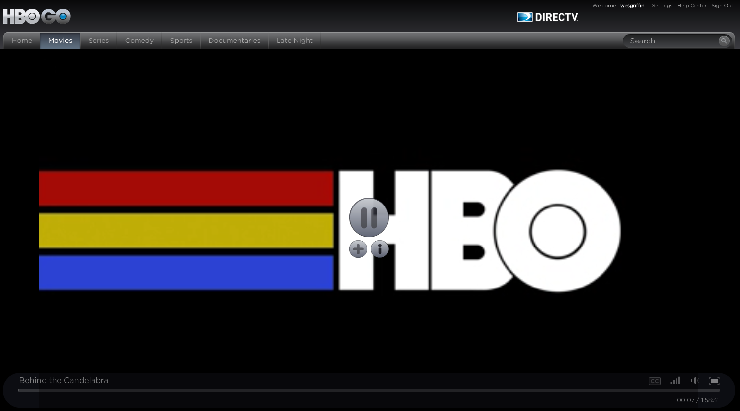 Signing up for a HBO GO subscription | My Private Network | Global