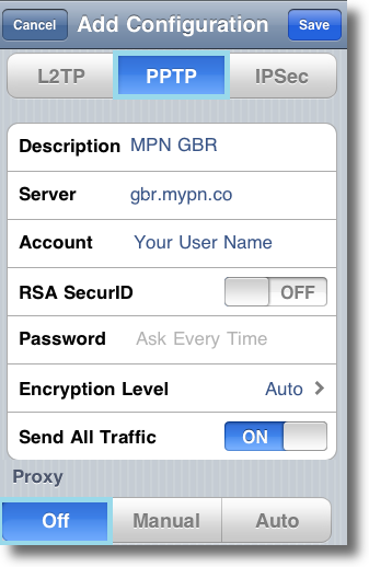 iPhone PPTP VPN Setup (iOS 6 and below)   My Private ...
