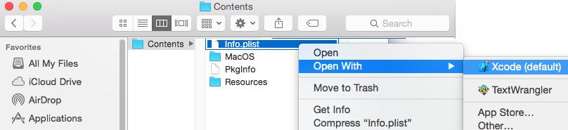 Mac OS X PPTP VPN Auto Start Xcode editor