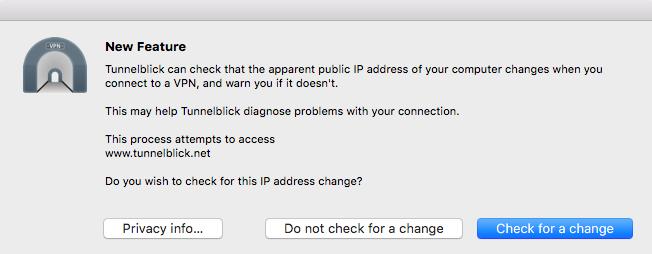 Mac OS X SSL Tunnelblick VPN Setup | My Private Network | Global VPN