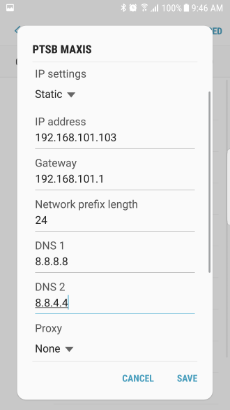 How to Set Google DNS on Your Android 7 0 Device - Samsung | My