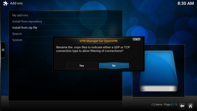 OpenVPN LibreELEC setup on Raspberry Pi 2   My Private Network