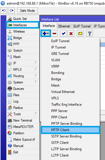 PPTP setup on MikroTik routers | My Private Network | Global VPN