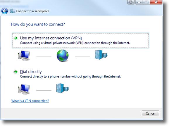 my private network mac setup