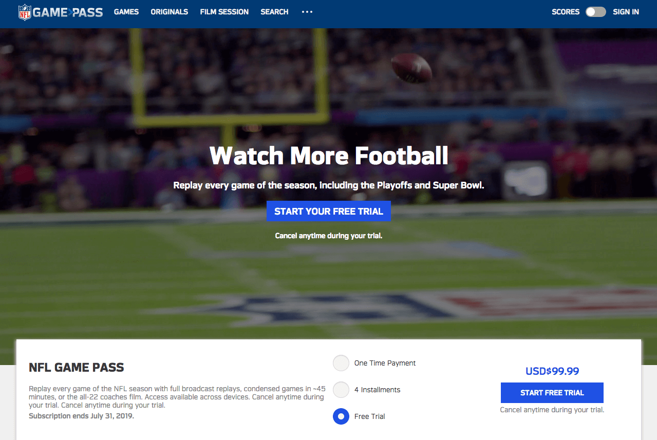 How to hack NFL Game Pass to bypass blackouts