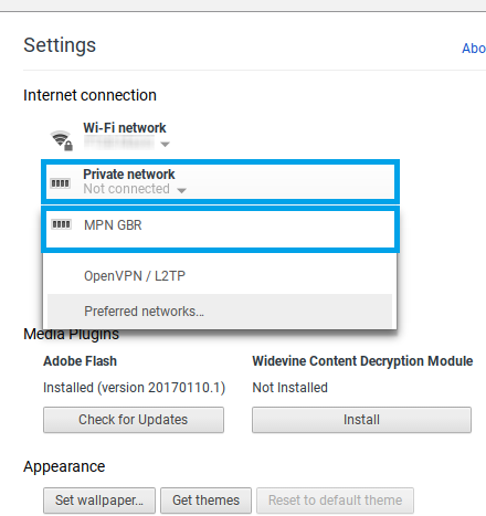 Chromebook L2TP VPN Setup | My Private Network VPN