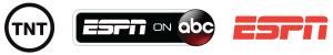 ABC, ESPN, TNT