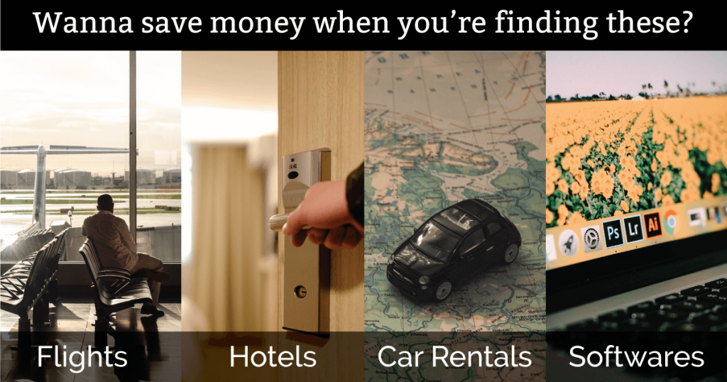 Cheaper Flights, Hotels, Car Rentals and Softwares Online