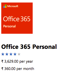 Microsoft Office 365 India