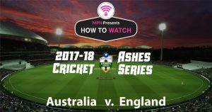 Cricket Ashes Series 2017-18