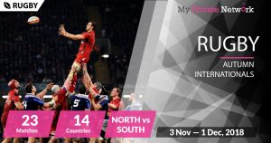 MPN Presents Rugby Union Autumn Internationals