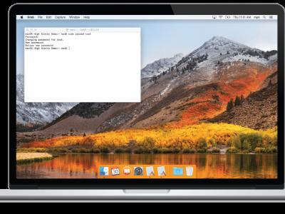 macOS 'High Sierra' Root Account Security Fail