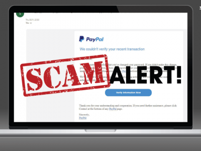 PayPal Phishing Scam | What is it and how to avoid getting scammed!