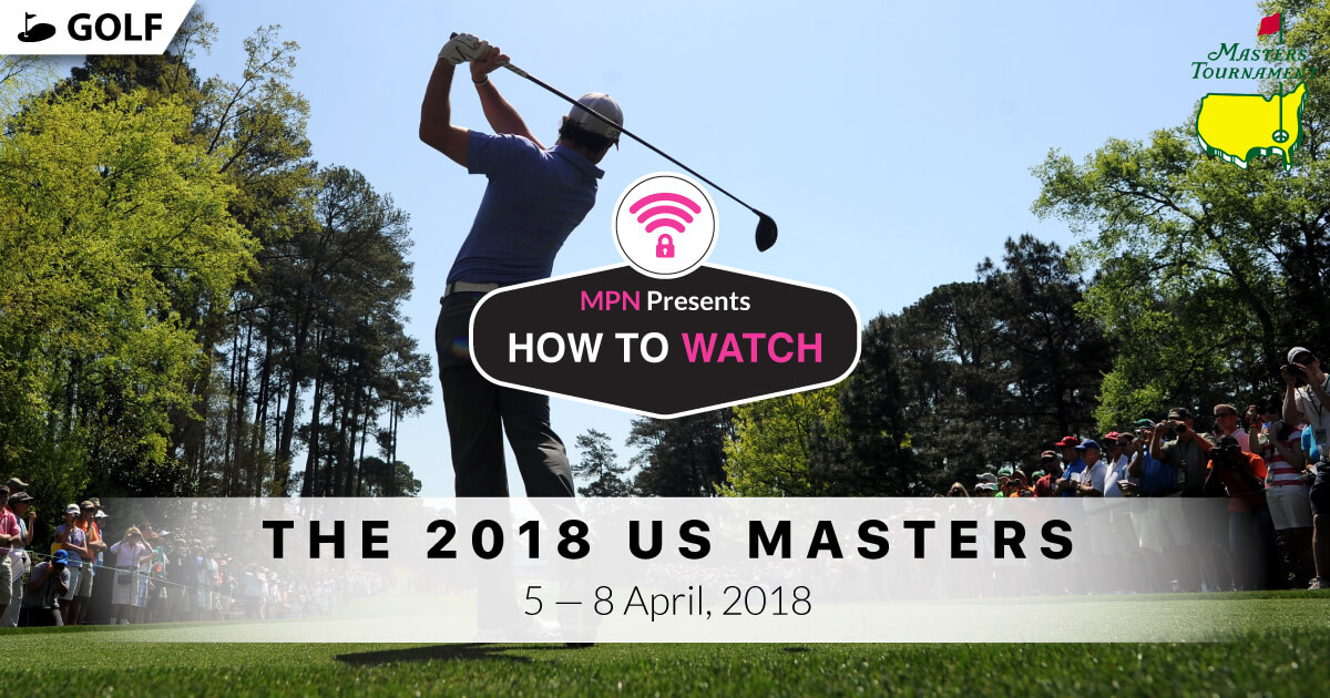 Image result for 2018 Masters Golf Tournament Live