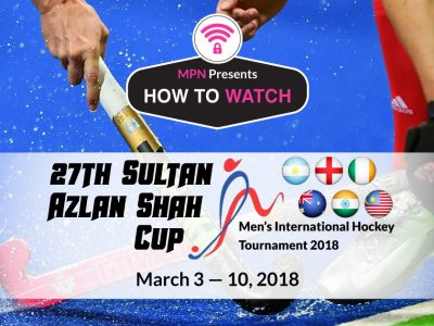 Sultan Azlan Shah Cup 2018 | How To Watch Live Online
