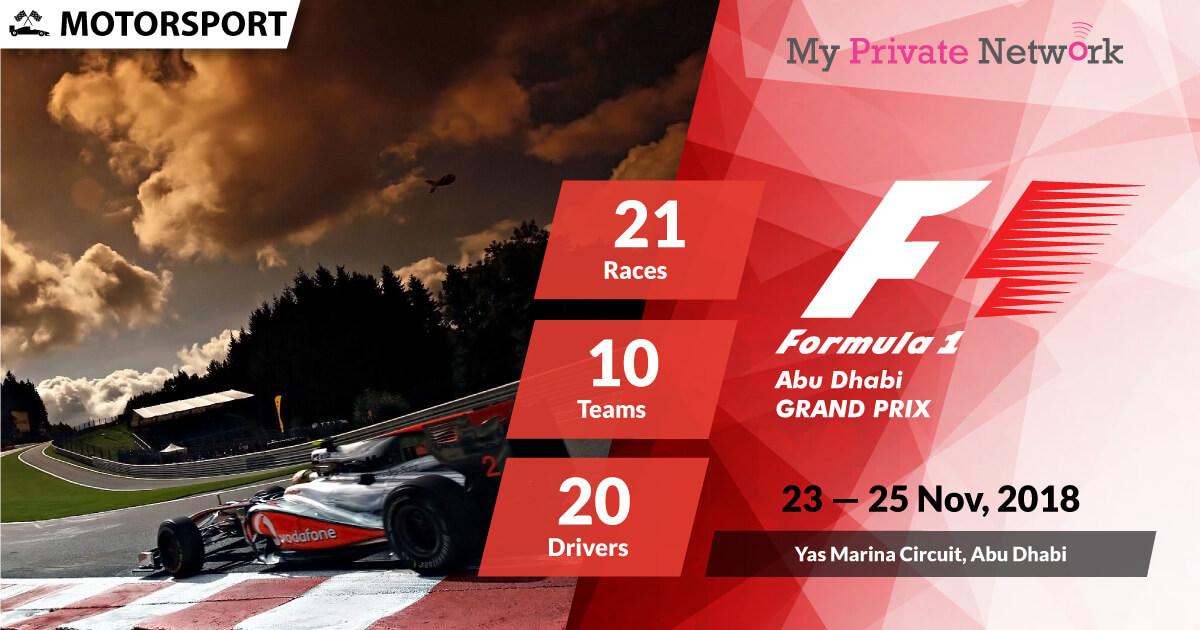 MPN Presents Formula 1 Abu Dhabi