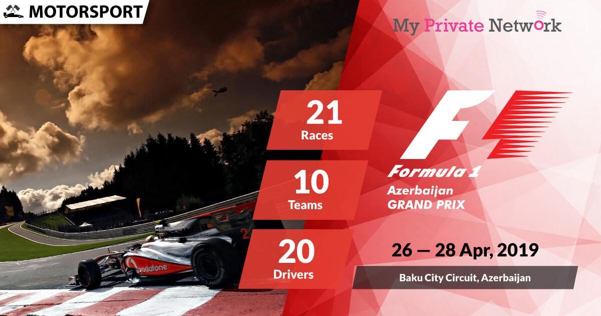 MPN Presents Formula 1 Azerbaijan 2019