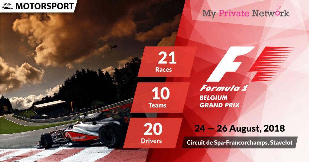 MPN Presents Formula 1 Belgium