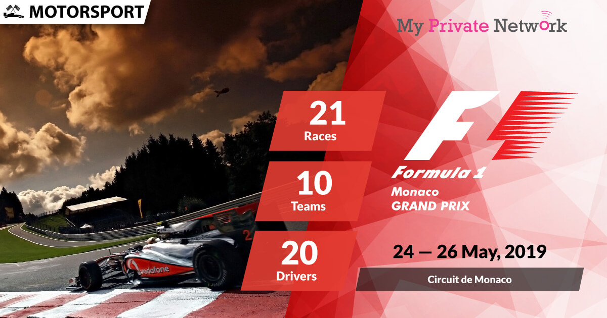 MPN Presents Formula 1 Monaco 2019
