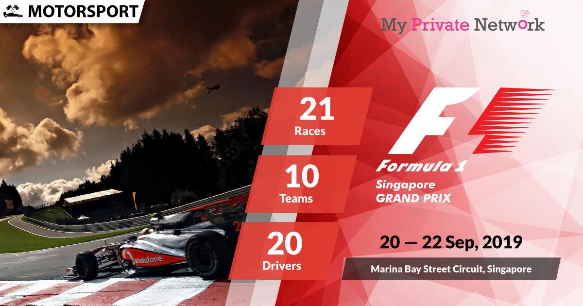 MPN Presents Formula 1 Singapore 2019