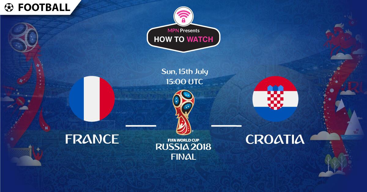 2018 France v. Croatia FIFA World Cup Final  28a200c77b0c1