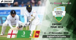 MPN Presents England in Sri Lanka